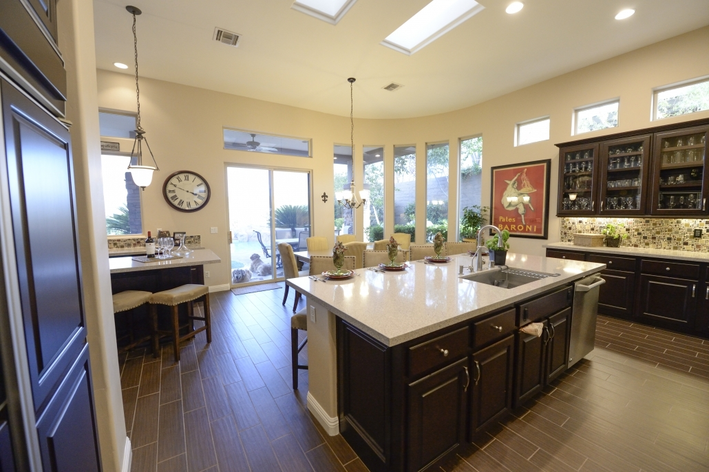 big kitchen cabinets