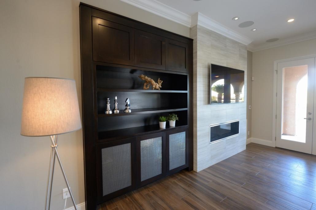 Big brown Cabinets Design