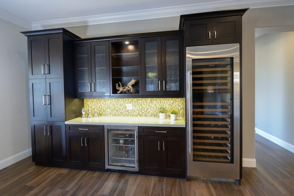 Big Brown Cabinets
