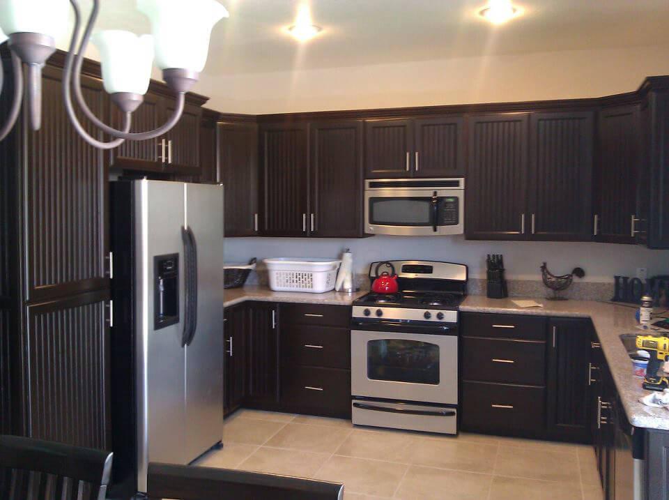 Big Brown kitchen design